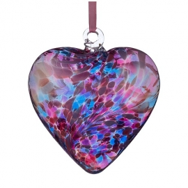 Friendship Heart (Pink and Blue)