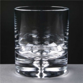 Bubble Base Whisky Glass (8oz)